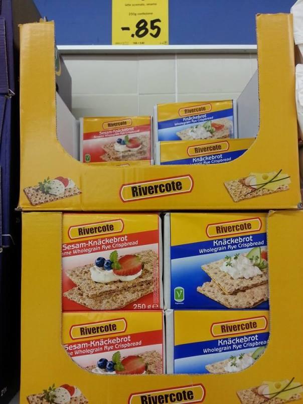 crackers di sesamo