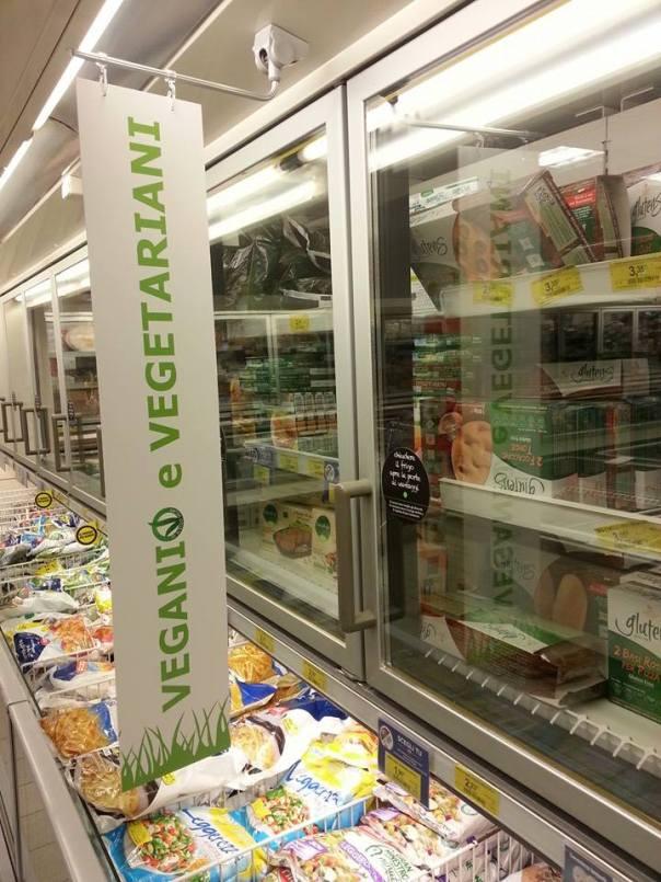 reparto vegetariano vegano coop
