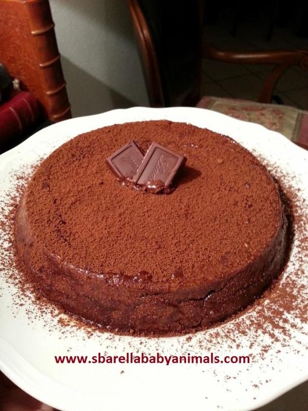 °° [ Ricette ] : Torta al Cioccolato Gianduia con Nocciole Intere °°