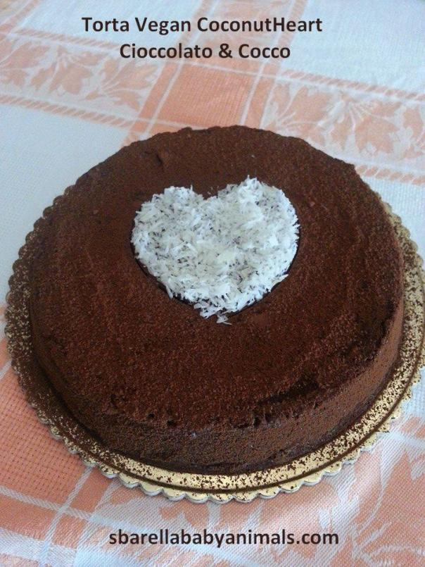Torta Coconut Heart