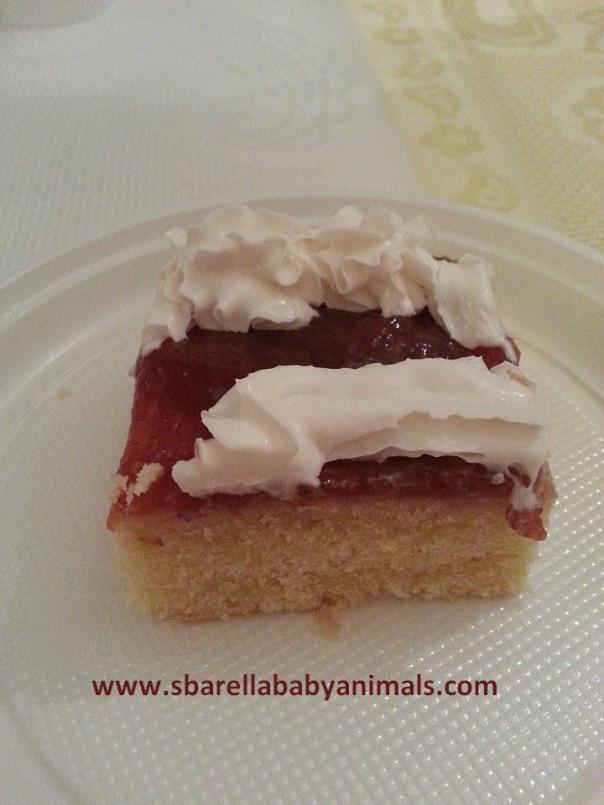 torta vanigliata