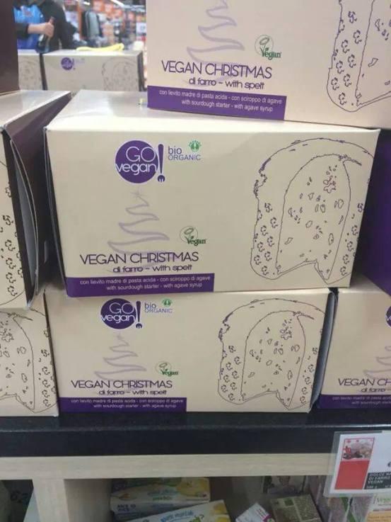 go vegan panettoni coop