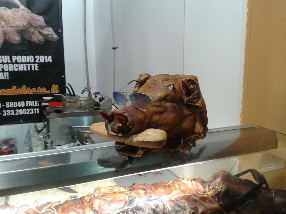 Porchetta think green live vegan love animals for Azienda italiana di occhiali