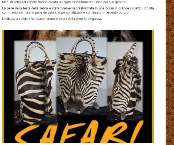 testa di zebra