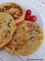 °°[Ricetta] Frittatine Vegan di Farina di Ceci con Zucchine eOlive°°