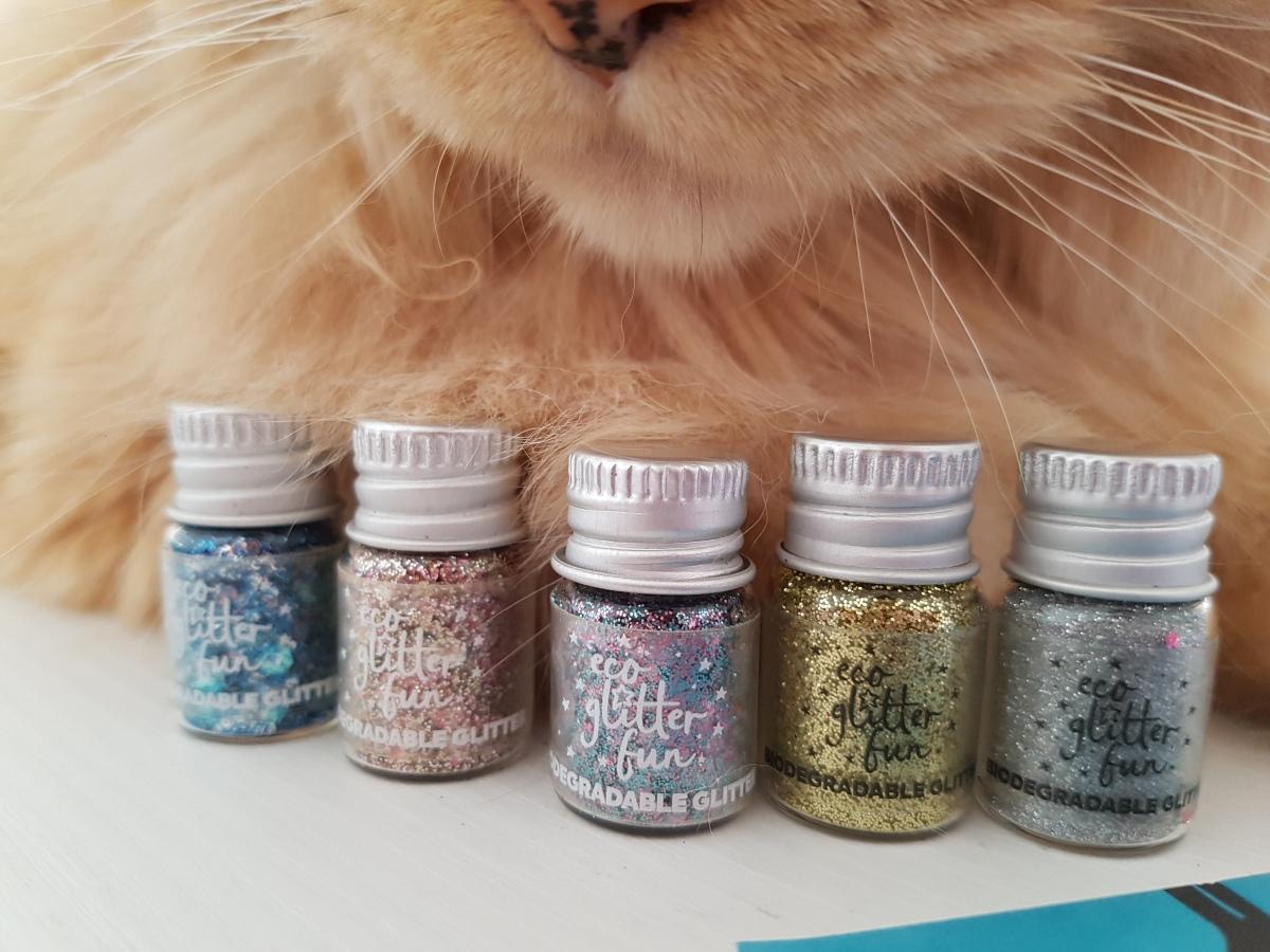 °°Eco Glitter Fun: i brillantini per corpo e capelli biodegradabili°°
