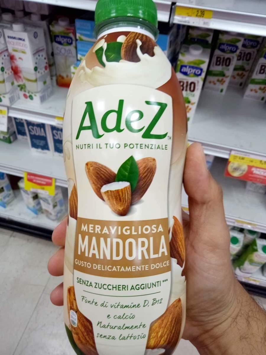 °°AdeZ: il latte vegetale prodotto da COCA COLA°°