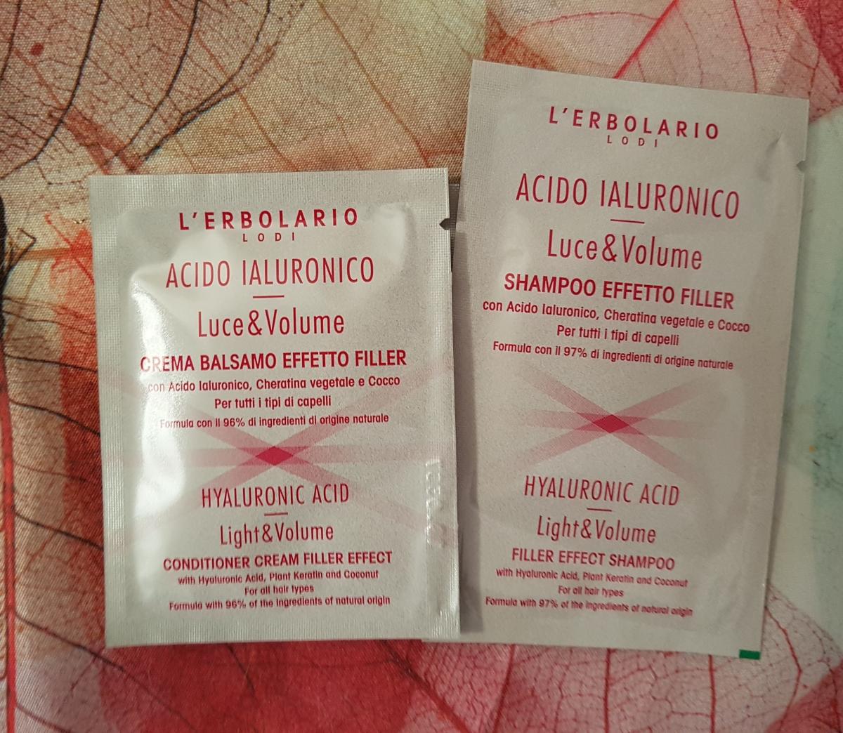 °°[Review] Shampoo & Crema Balsamo Acido Ialuronico ~ Erbolario°°