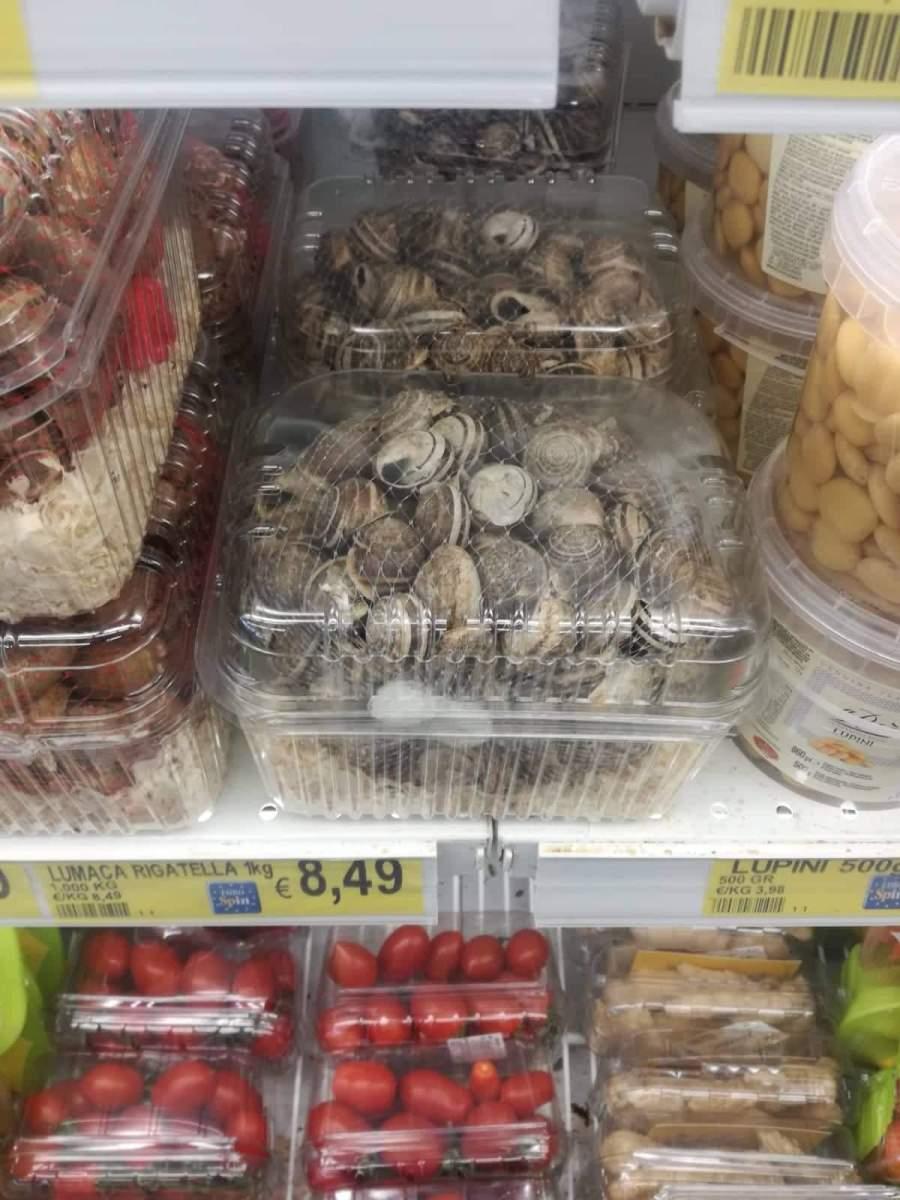 °°[Protesta] Chiocciole Vive Nei Supermercati EUROSPIN°°